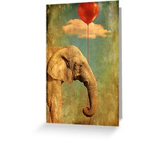 Alone In My World Greeting Card