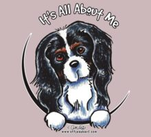 Tricolor Cavalier CKCS :: It's All About Me by offleashart