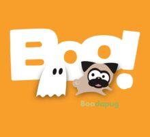 Tugg the Pug Boo! (White) T-Shirt