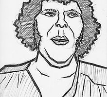 Andre The Giant by Brett Gilbert