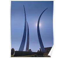 Air Force Memorial Poster