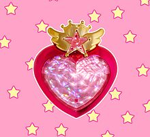 Starry Chibi Moon Compact by bunnyparadise