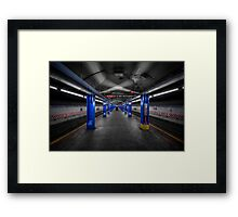 And Then The Silence... Framed Print