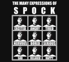 Spock's Facial Expressions [ star trek spock ] by picky62