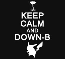 Keep Calm and Down-B Kids Clothes