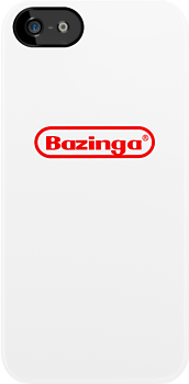 Nostalgic? Bazinga! iPhone Cover by daftwolfie