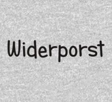 Widerporst (black) by Bela-Manson