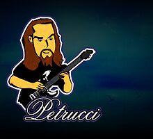 John Petrucci (Print Version) by Rodrigo Marckezini