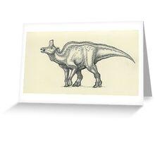 Lambeosaurus lambei Greeting Card