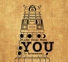 Skaro needs YOU... by amanoxford