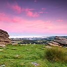 Sunrise on Dartmoor by Pete Latham