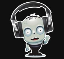 Cute Zombie DJ by metacortex