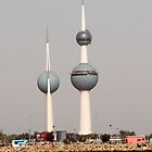 Kuwait Towers by Citisurfer
