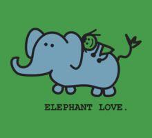 Elephant Love . Who Loves Elephants?  Kids Clothes