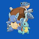 Squirtle Evol by kjharmon3
