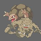 Geodude Evol by kjharmon3