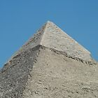 Great Pyramids of Giza, Egypt by Ricky Dieter