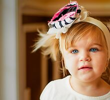 Pigtails and Bows by Marcelle Raphael