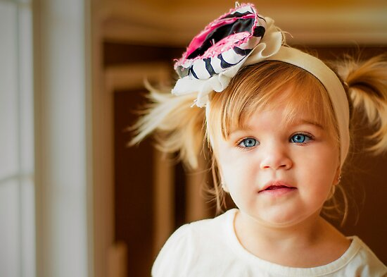 Pigtails and Bows by ©Marcelle Raphael / Southern Belle Studios