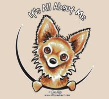 Long Haired Chihuahua :: It's All About Me by offleashart