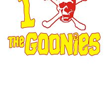 I Heart Goonies by BUB THE ZOMBIE
