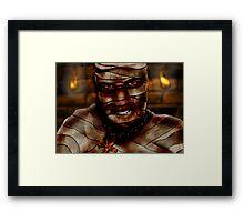 Mummy Framed Print