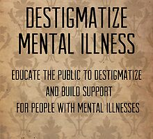 destigmatize mental illness by hispurplegloves