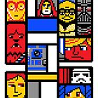 8-BIT WARS by DREWWISE