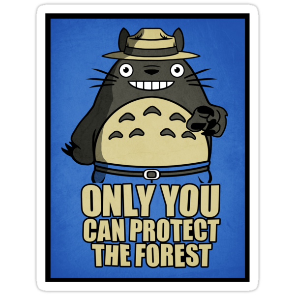 Protect The Forest Sticker by Baznet