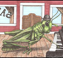 Grasshopper by Kat Anderson