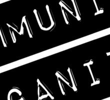 Community Organizer Label Sticker