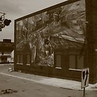 The Mural in Galesburg, IL  by Adam Kuehl