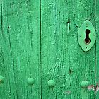 Green Door Lock by Madeleine Forsberg