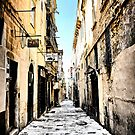 Street in Valletta, Malta by Wendy  Rauw
