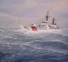 U. S. Coast Guard Cutter Gallitin by cgret82