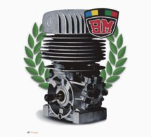 BM Vintage Kart Engine by harrisonformula
