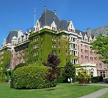 The Empress Hotel, Victoria BC by AnnDixon