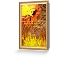 Isaiah 26:3 Greeting Card