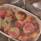 Porch Peaches by Kristine McKay Kinder