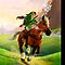 Zelda Horse Bright - iPhone Case by HostMigration