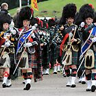 Marching Proud! Braemar, Scotland by MelissaSue
