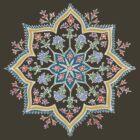 Intricate Flower Star by Ashton Bancroft