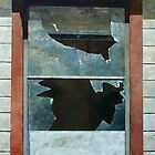 Mare Island Broken Window by Kirt Hardcastle