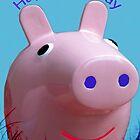 Piggy Birthday card by Forfarlass