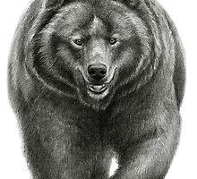 Brown Bear sk068 schukina by schukinart