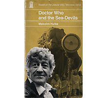 Doctor Who and the Sea-Devils - Penguin style Photographic Print