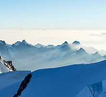 Massif du Mont Blanc III by Tom Fahy