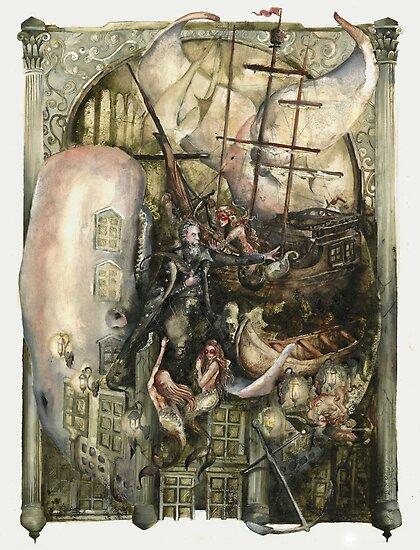 Tribute to Herman Melville by Dustin Panzino