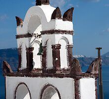 Bells Of Santorini by phil decocco