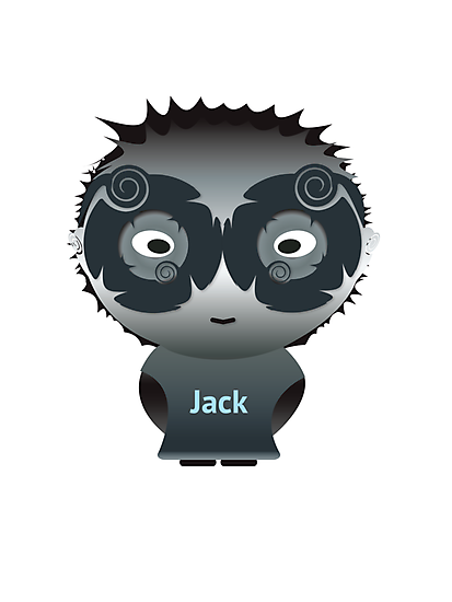 Illustrator character - Jack by idGee Designs
